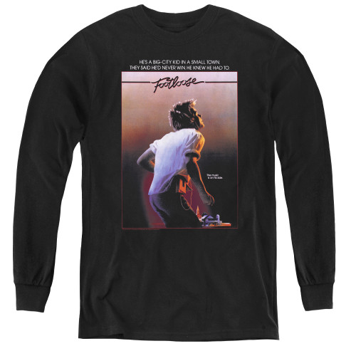 Image for Footloose Youth Long Sleeve T-Shirt - Poster