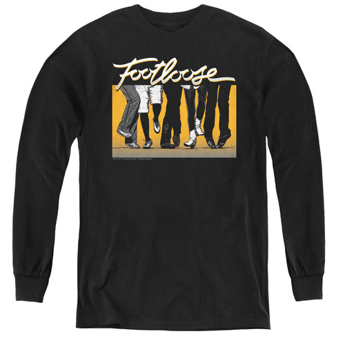 Image for Footloose Youth Long Sleeve T-Shirt - Dance Party