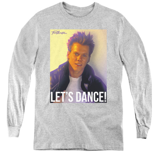 Image for Footloose Youth Long Sleeve T-Shirt - Let's Dance