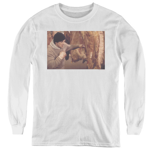 Image for Rocky Youth Long Sleeve T-Shirt - Meat Locker