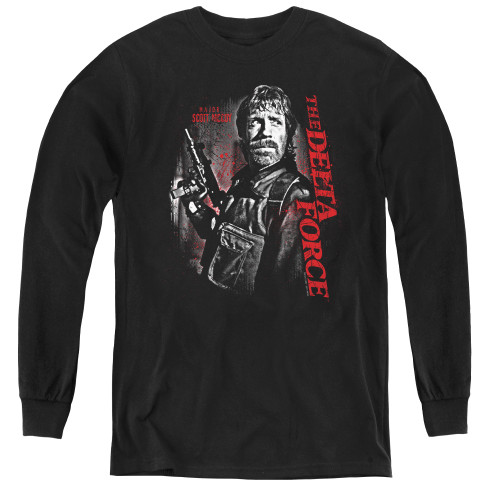 Image for Delta Force Youth Long Sleeve T-Shirt - Black Ops