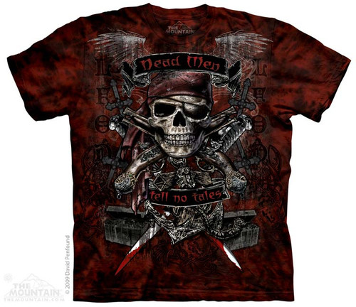 Image for The Mountain T-Shirt - Dead Men