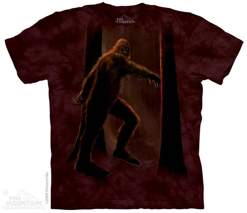 Image for The Mountain T-Shirt - Bigfoot