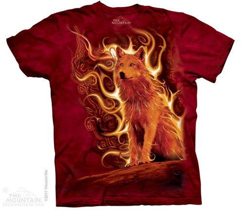 Image for The Mountain T-Shirt - Pheonix Wolf