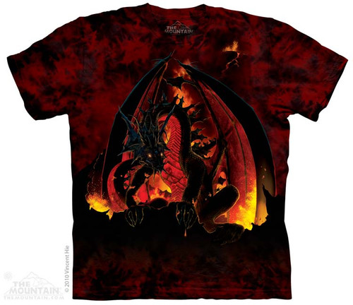 Image for The Mountain T-Shirt - Fireball