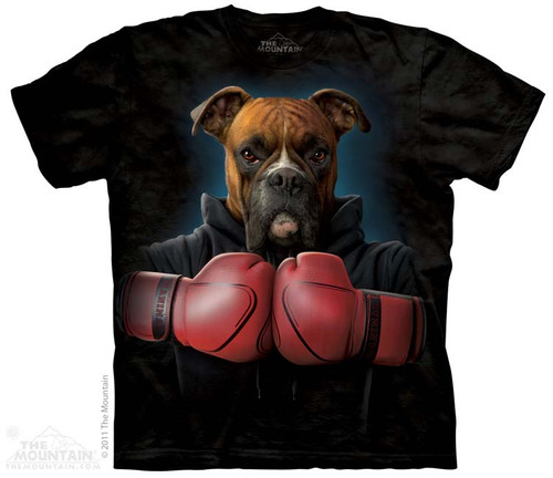 Image for The Mountain T-Shirt - Boxer Rocky