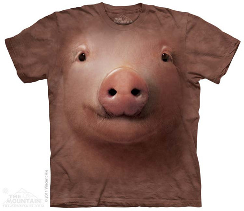 Image for The Mountain T-Shirt - Pig Face