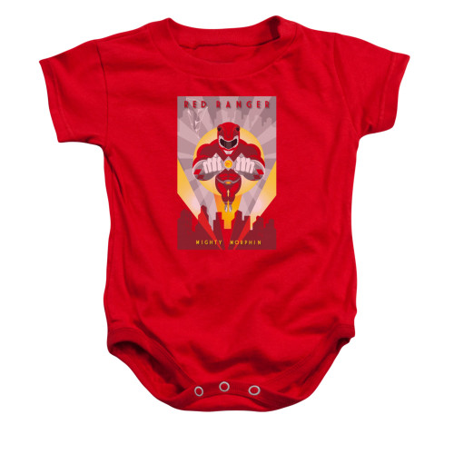 Image for Power Rangers Baby Creeper - Red Ranger Deco