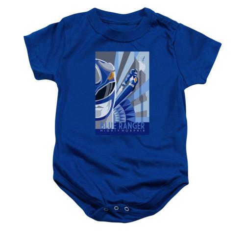 Image for Power Rangers Baby Creeper - Blue Ranger Deco