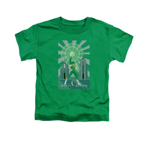 Image for Power Rangers Toddler T-Shirt - Green Ranger Decos