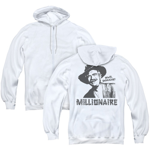 Image for The Beverly Hillbillies Zip Up Back Print Hoodie - Millionaire