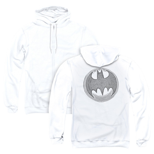 Image for Batman Zip Up Back Print Hoodie - Knight Knockout