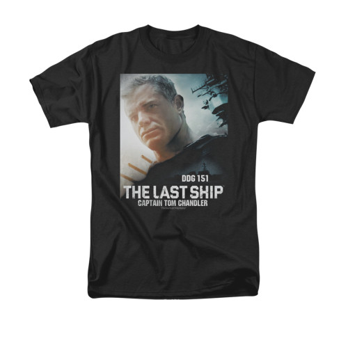 Image for The Last Ship T-Shirt - Captain
