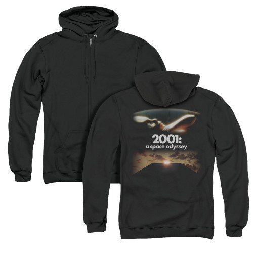 Image for 2001: A Space Odyssey Zip Up Back Print Hoodie - Prologue