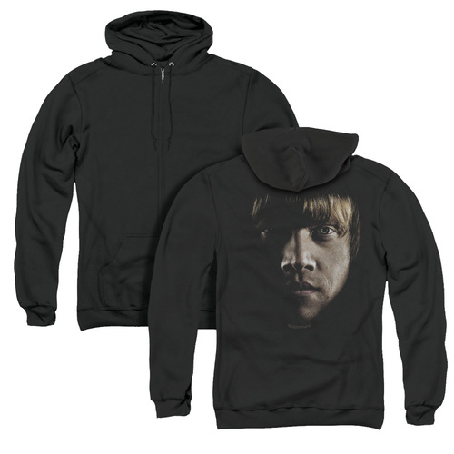 Image for Harry Potter Zip Up Back Print Hoodie - Ron Poster