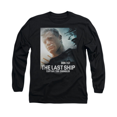 Image for The Last Ship Long Sleeve T-Shirt - Captain