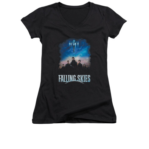 Image for Falling Skies Girls V Neck T-Shirt - Main Players