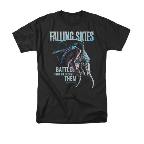 Image for Falling Skies T-Shirt - Battle or Become