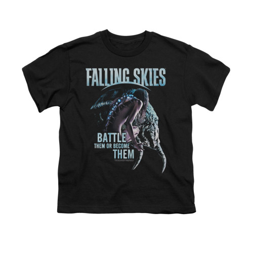 Image for Falling Skies Youth T-Shirt - Battle or Become