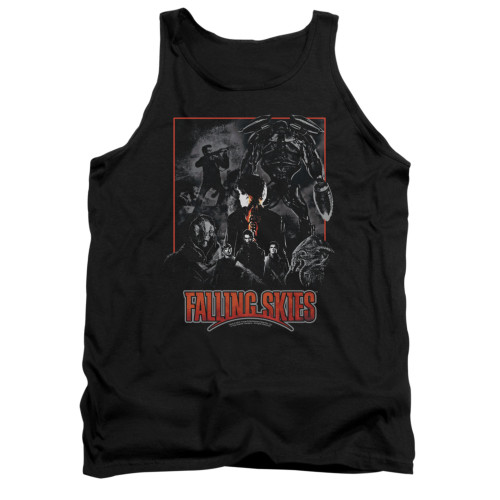 Image for Falling Skies Tank Top - Collage