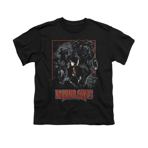 Image for Falling Skies Youth T-Shirt - Collage