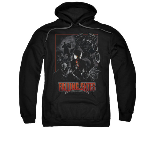 Image for Falling Skies Hoodie - Collage