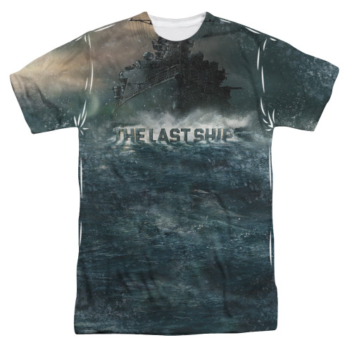 Image for The Last Ship T-Shirt - Sublimated Out to Sea 100% Polyester