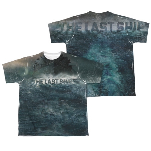Image Closeup for The Last Ship Youth T-Shirt - Sublimated Out to Sea