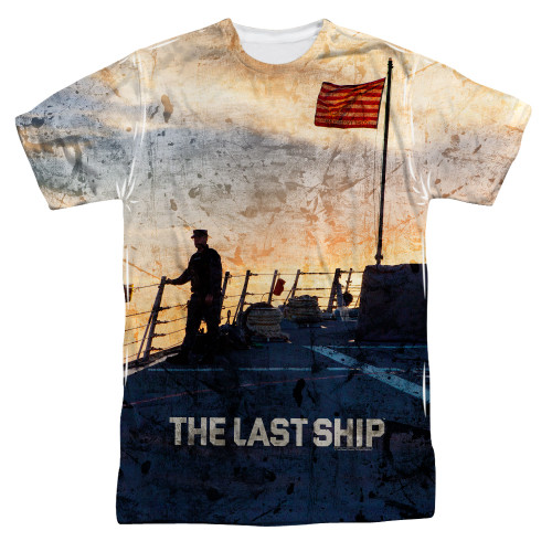 Image for The Last Ship T-Shirt - Sublimated Captain 100% Polyester