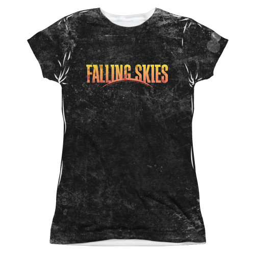 Image for Falling Skies Girls T-Shirt - Sublimated Harness 100% Polyester