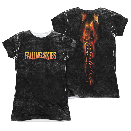 Image Closeup for Falling Skies Girls T-Shirt - Sublimated Harness
