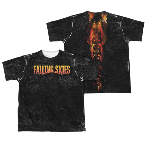 Image Closeup for Falling Skies Youth T-Shirt - Sublimated Harness
