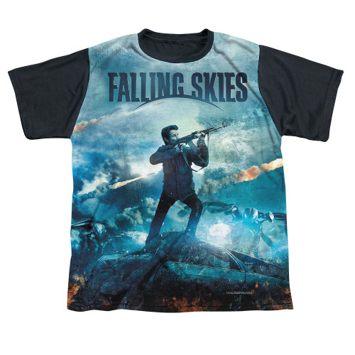 Image detail for Falling Skies Youth T-Shirt - Sublimated Battle