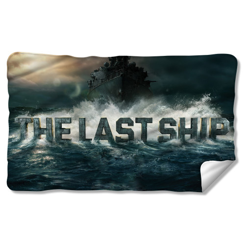 Image for The Last Ship Fleece Blanket - Out to Sea
