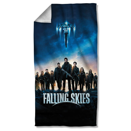 Image for Falling Skies Fleece Blanket - Poster