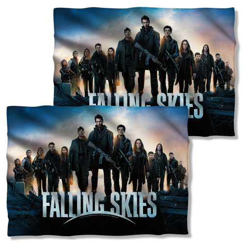 Image Closeup for Falling Skies Pillow Case - Poster