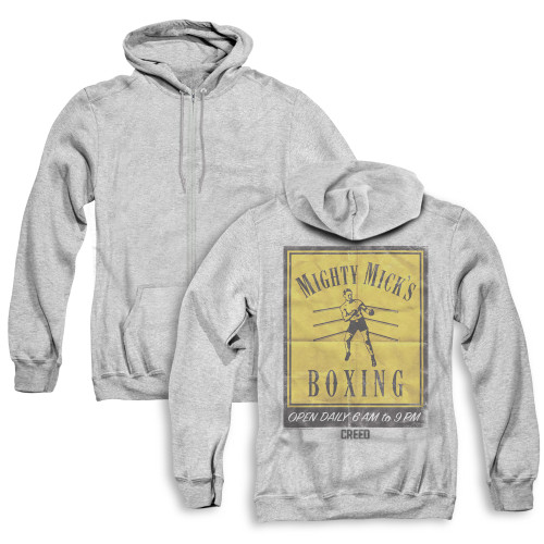 Image for Creed Zip Up Back Print Hoodie - Mick's Poster