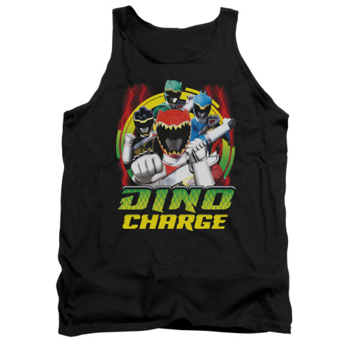 Image for Power Rangers Dino Charge Tank Top - Dino Lightning