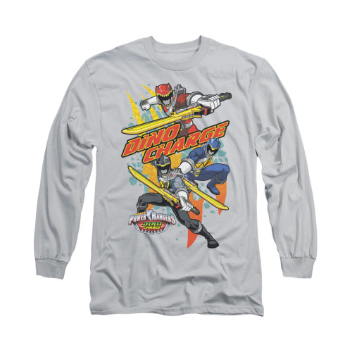 Image for Power Rangers Dino Charge Long Sleeve T-Shirt - Swords Out