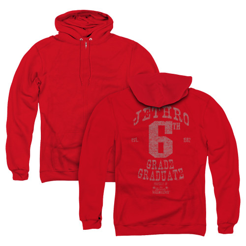 Image for The Beverly Hillbillies Zip Up Back Print Hoodie - Mr. 6th Grade Grad