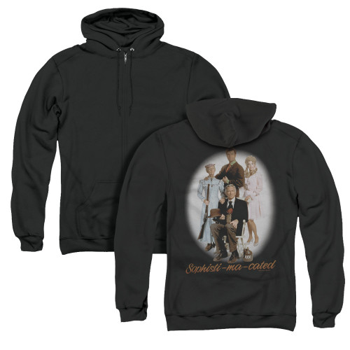Image for The Beverly Hillbillies Zip Up Back Print Hoodie - Sophistimacated