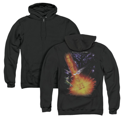 Image for Star Trek Zip Up Back Print Hoodie - The Undiscovered Country