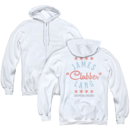 Image for Rocky Zip Up Back Print Hoodie - Clubber