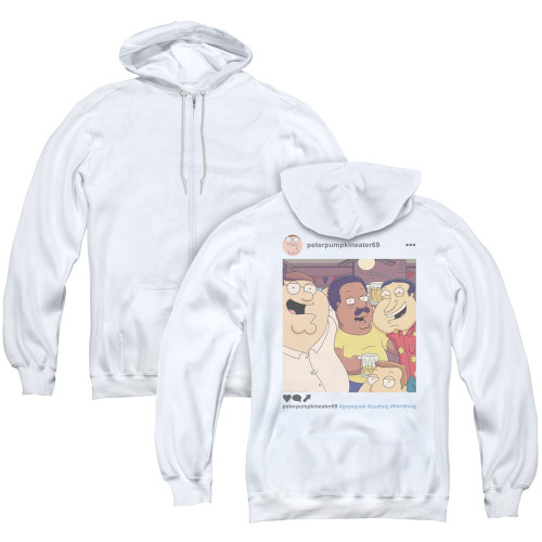 Image for Family Guy Zip Up Back Print Hoodie - Insta
