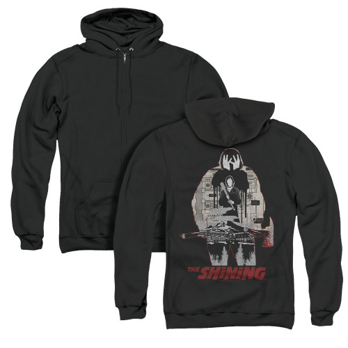 Image for The Shining Zip Up Back Print Hoodie - Come Out Come Out