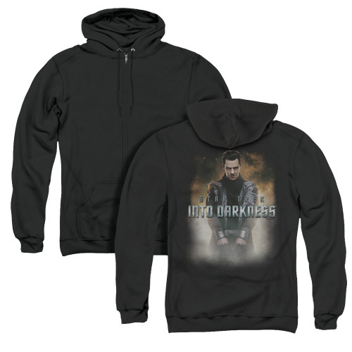 Image for Star Trek Into Darkness Zip Up Back Print Hoodie - Harrison