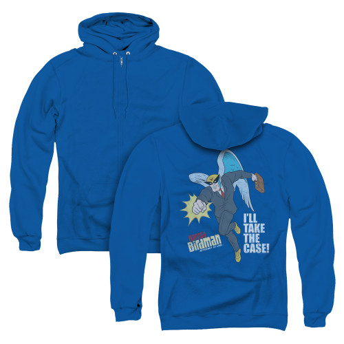 Image for The Venture Bros. Zip Up Back Print Hoodie - Take the Case