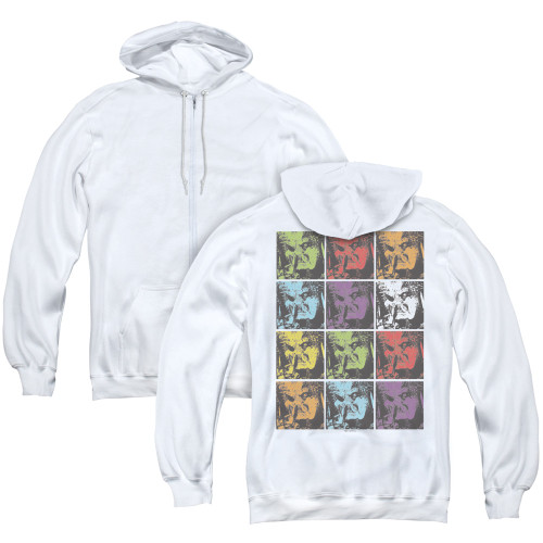 Image for Predator Zip Up Back Print Hoodie - Yautja