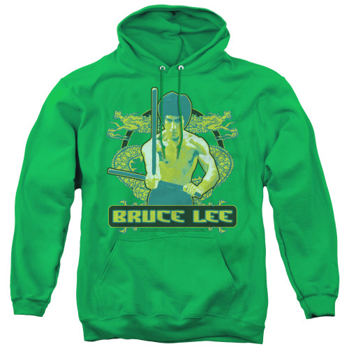 Image for Bruce Lee Hoodie - Double Dragons
