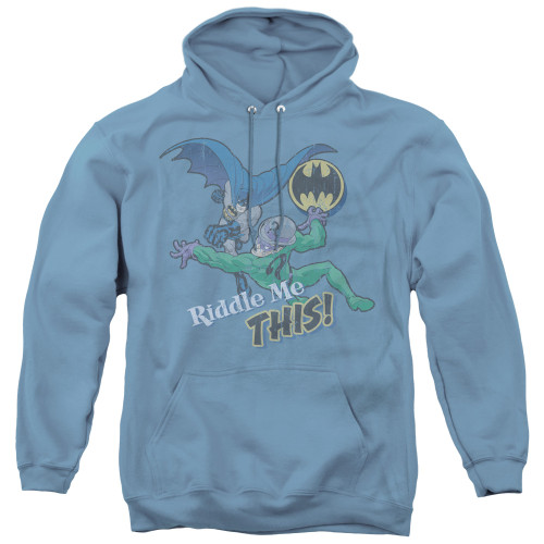 Image for Batman Hoodie - Riddler Riddle Me This